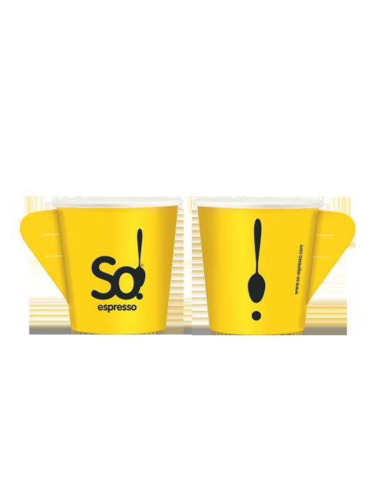 Paper cup 4oz espresso So! [x100pcs]